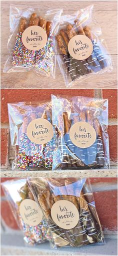 Inexpensive wedding favors best photos favors weddings and wedding his favorite her favorite wedding favor stickers his hers wedding shower engagement junglespirit Choice Image