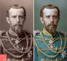 Artist Mario Unger Spends 3000 Hours To Colorize Old Black & White Photos Of Famous People Evelyn Nesbit, Wilhelm Ii, Kaiser Wilhelm, Mario, Grace Kelly, Black White Photos, Black And White, Franz Josef I, Kaiser Franz