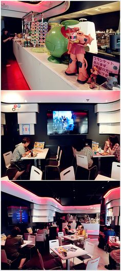 Gundam Cafe and Akiba
