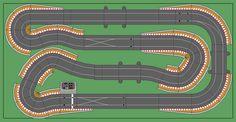 New Digital Track Designs - Page 2 - Tracks & Scenery - SlotForum Dirt Bike Track, Slot Car Race Track, Slot Car Racing, Slot Car Tracks, Slot Cars, Rc Cars, Race Tracks, Dirt Biking, Auto Racing
