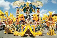 So colorful. I would love to attend an event like this in. Carnival in #Aruba #aioutlet