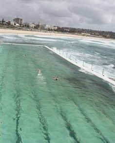 Ocean pool at Bondi Beach. Practical and beautiful.