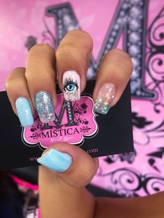 Crazy Nails, Fancy Nails, Cute Nails, Nail Deaigns, Hair And Nails, My Nails, Latest Nail Art, Nail Art Hacks, Creative Nails