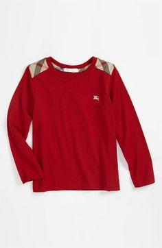 Burberry Shoulder Patch T-Shirt (Little Boys & Big Boys)   Nordstrom