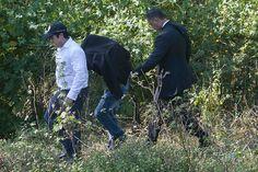 Un buzo de la Marina fue quien halló una bolsa negra… a orillas del río San Juan