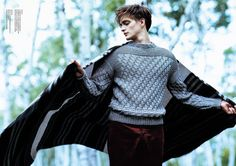 Robert Laby for Tomorrowland FW 2013 Anniversary Special Edition Human Poses Reference, Pose Reference Photo, Knitwear Fashion, Autumn Photography, Picture Poses, Beautiful Men, Beautiful Person, Male Models, Character Inspiration