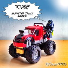 #LEGO_Galaxy_Patrol and #LEGOcity #MonsterTruck #LEGO @LEGO