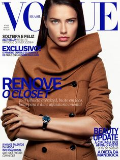 Adriana Lima by Greg Kadel Vogue Brazil August 2016