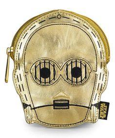 Look at this #zulilyfind! Star Wars C-3PO Coin Purse #zulilyfinds
