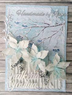Intohimona askartelu: Talviset kukkakortit Rock Candy, Frame, Flowers, Decor, Picture Frame, Decoration, Decorating, Frames, Royal Icing Flowers
