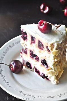Сметанный торт с вишней. Видео рецепт - Mom Story
