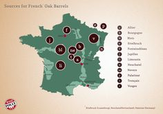 """ap] """"Sources for French Oak Barrels"""" Jan-2013 by Winefolly.com - Most notably, well-made barrels from Alliers, Vosges and Tronçais command the highest prices (upwards of $ 4,000 per barrel). Limousin oak is more loose-grained making it more suited for Cognac, Armagnac, Sherry and whisky aging."""