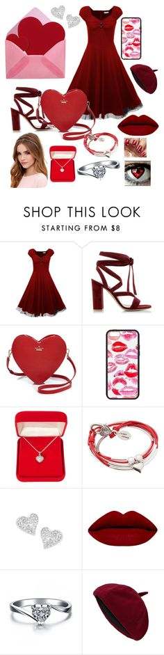 """""""love sick /inspired by OC K.C aka Katie Cupid sister of Cupid"""" by winternightfrostbite ❤ liked on Polyvore featuring Gianvito Rossi, Kate Spade, Alexa Starr, Lizzy James, Vivienne Westwood, Lulu*s, women's clothing, women, female and woman"""