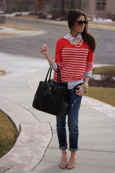 Love this outfit!  This girl always dresses amazing!