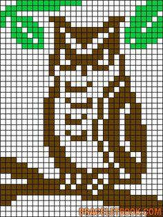 Alpha Pattern added by CoolCat Potholder Patterns, Hama Beads Patterns, Loom Patterns, Beading Patterns, Quilt Patterns, Cross Stitch Bird, Cross Stitch Alphabet, Cross Stitching, Cross Stitch Embroidery