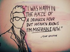 Moz drawing/Smiths lyric.
