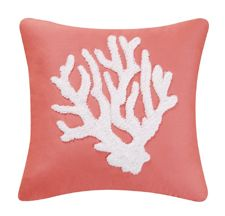 coral \ pillow