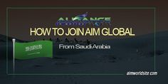 Many are asking how to join AIM Global Saudi Arabia and on this post, I will explain how someone can join for those who live or work in KSA.