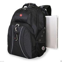 """17"""" laptops / Notebook SwissGear ScanSmart Backpack - Green Ace - Black Color $81"""