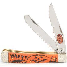 Case knives Case XX Knife Item # 82386 - Trapper - Halloween Series Designs by Linda Karst Halloween Series, Case Knives, Swiss Army Knife, Cutlery, Tattoo, Beautiful, Design, Swiss Army Pocket Knife, Flatware