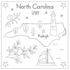The Floss Box | North Carolina Embroidery