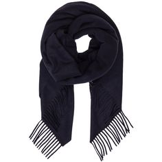 Acne Studios Alaska Scarf ($250) ❤ liked on Polyvore featuring accessories, scarves, acne studios, fringed shawls e fringe scarves