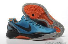 info for 1bd85 4cb41 Cheap Nike Zoom Hyperdunk Low Bright Blue Black Orange 454138 002 Latest Now