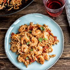 You really CAN create these delicious chilli prawn noodles in five minutes by employing a few savvy shortcuts.