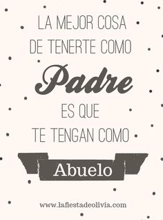 Feliz dia del Padre #padre