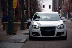 Yellow fogs and ftp are a must. Black Rims, Cars And Motorcycles, Dream Cars, Volkswagen, Exotic, Golf, Window, Eyes, Yellow