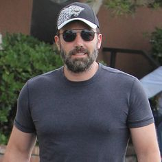 Ben Affleck Sports a Smile on a Casual Family Day