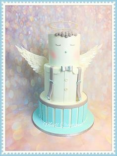 angel cake baby by Cindy Sauvage