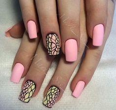 Attractive nails, Beautiful nails 2016, Elegant nails, Fine nails, Gradient nails 2016, Manicure 2016, Nails trends 2016, Original nails