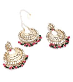 & Beads Embellished & at… Diwali Sale, Indian Accessories, Temple Jewellery, Designer Collection, Indian Jewelry, Jewerly, Crochet Earrings, Watches, Beads