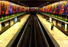20 Incredible Subway Stations Around the World