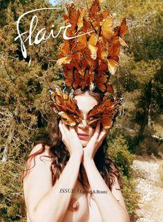 Flair No.1 October 2012 Mariacarla Boscono by Juergen Teller