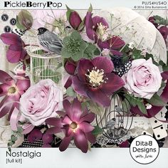 Nostalgia - full kit By Dita B Designs