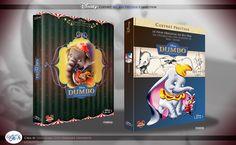 Concept de collection Blu Ray prestige Disney avec fourreau et Digibook : Dumbo Disney Blu Ray, Walt Disney, Animation Disney, The Prestige, The Originals, Collection, Film, Design, Sheath Dress