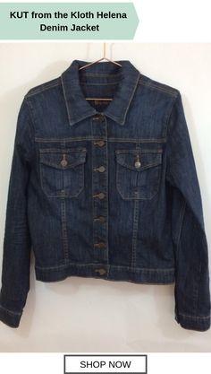 5e0163bb0e KUT from the Kloth Helena Denim Jacket