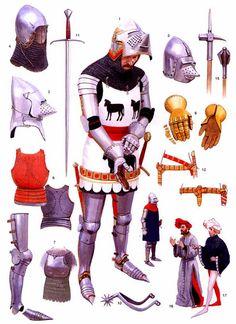 Английский рыцарь 1390 г.