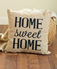 These Vintage Burlap Decorative Pillow adds just the right amount of country charm to your space. With a rustic design and a handmade look, it's the perfect piece to accent a couch, chair or bench. Bl