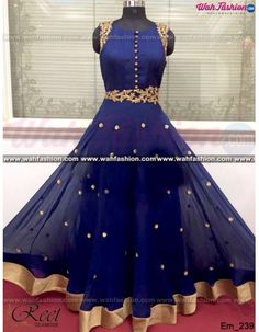 Give yourself a stylish & stunning look with this Adorable Navy Blue Embroidered Anarkali Suit. Embellished with Embroidery work and lace work. Available with matching bottom & dupatta. It will make you noticable in special gathering. You can design this suit in any color combination or in any fabric. Just whatsapp us for more details.  For more details whatsapp us: +919915178418