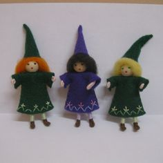 Witches, fairy folk, angels