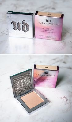 Beauty: Urban Decay Afterglow Highlighter review