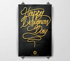 Día Mundial del Diseño Gráfico por Alan Guzmán, a través de Behance