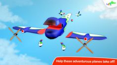 Build and Play 3D - Planes Special Edition ($0.00) Watch those creative minds take off with this stimulating fun new game from the multi-award winning team at Croco Studio. Packed with airplanes ready for assembly, this app is bursting with thoughtful designs and an engaging interface. Perfect for kids aged 3 to 6!