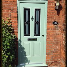 Chartwell green composite rockdoor fitted in St. Albans