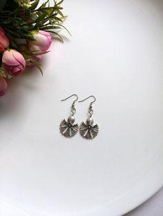 Silver earrings Silver wedding Jewelry Clove earrings