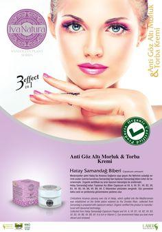 organic face cream 3 effects from Hatay Samandağ