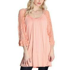 Gorgeous lace sleeved blouse. This is a gorgeous lace sleeved blouse. Tops Blouses